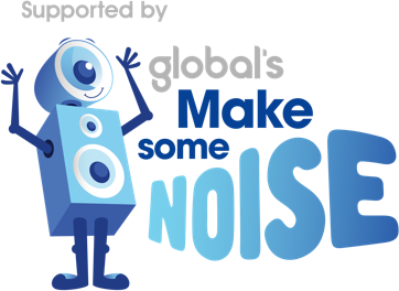 global make some noise logo