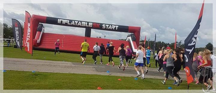 Newark Inflatable Run